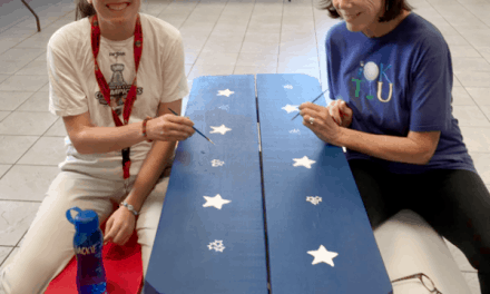 Life Shop Paints Silent Auction Kids Picnic Bench