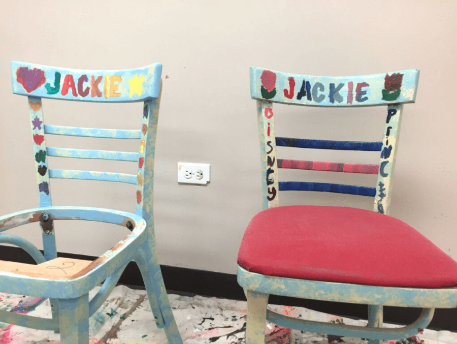 Life Shop is Refinishing & Personalizing Their Chairs