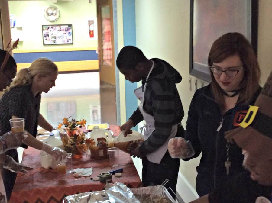 Life Shop & CITE Prepare Meal for Veterans at Hines VA Hospital