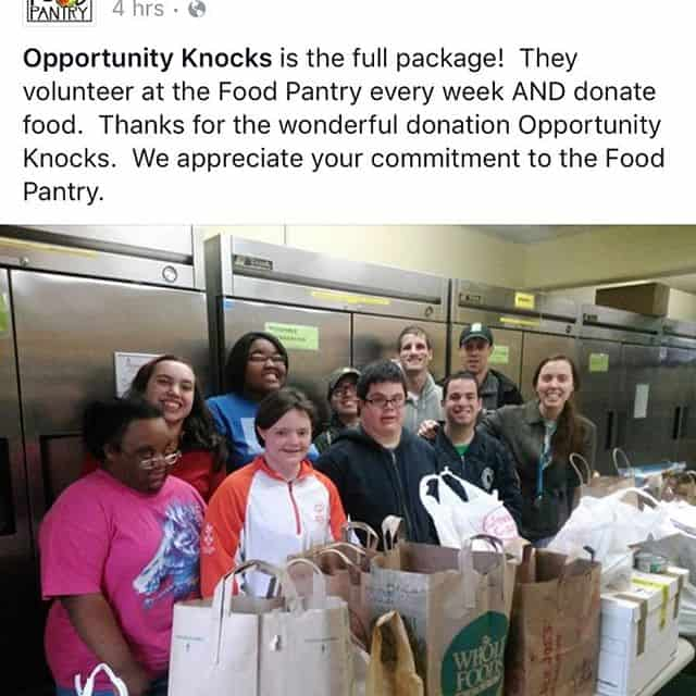 Got a sweet shoutout from the @oakparkriverforestfoodpantry after the Community Opps program dropped off the food they collected from the neighborhood. Way to go Warriors!