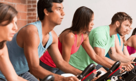 Charity Ride at the Dailey Method Cycle