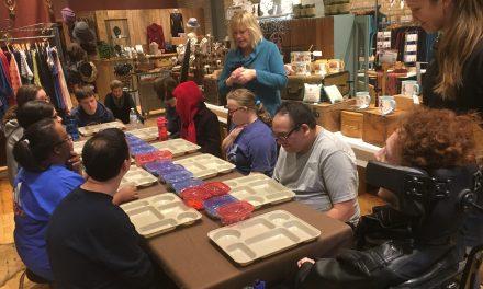 Life Shop Gets Crafty at Team Blonde