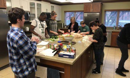 Community Opps cooks for the Ronald McDonald House