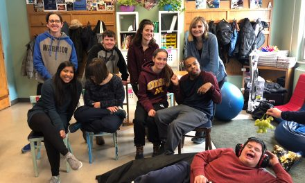 Midwestern Occupational Therapy Students bring health & wellness to the Warriors!
