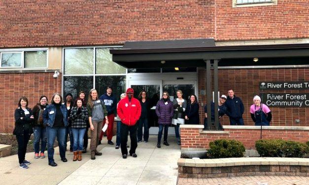 OPRF Community Foundation Leadership Lab Visits the Knocks