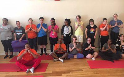 Namaste at ahimsa yoga