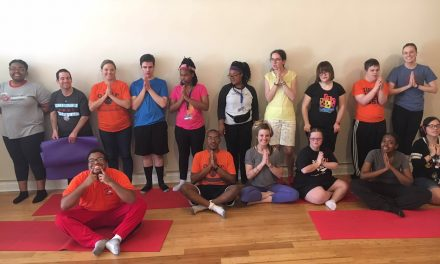 Namaste at ahimsa yoga